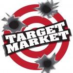 Target Market — Stock Vector #6366457