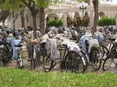 Fahrräder in der Stadt — Stock Photo