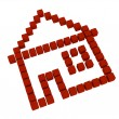 Icon of house — Stock Photo