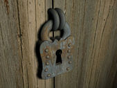 Lock 3d — Stock Photo