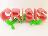 кризис — Стоковое фото