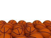 Basketball balls — Stock Photo