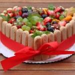 Fruit cake — Stock Photo #6664323