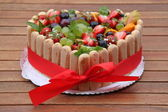 Cake fruit — Stockfoto