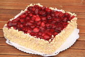 Raspberry cake — Stock Photo