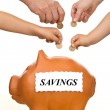 Financial education and money saving concept — Stock Photo