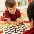 Learning the rules of chess — Stock Photo #6409330