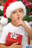 The magical secret of christmas — Stock Photo