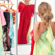 Trying on dresses is fun — Stock Photo #6410095