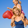 Summer baloon fun — Stock Photo