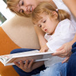 Womreading story — Stock Photo #6410648