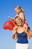 Summer baloon fun — Stock Photo