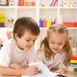 Kids learning and reading — Stock Photo #6430238