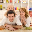 Happy family portrait — Stock Photo #6430466