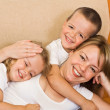 Chiling with the kids — Stock Photo #6430521
