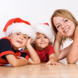 Waiting for Santa — Stockfoto
