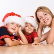 Stock Photo: Waiting for Santa