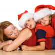 Kids playing with their mother — Stock Photo #6430550