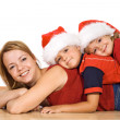 Christmas pile - isolated — Stock Photo #6430551