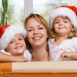 Royalty-Free Stock Photo: Happy family preparing for christmas