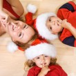 Royalty-Free Stock Photo: Shhh, Santa is coming....
