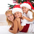Foto Stock: Happy christmas heap