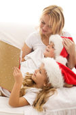 Christmas story time — Stock Photo