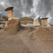 Hoodoo formations — Stock Photo