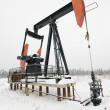 Stock Photo: Pumpjack