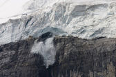 Collapsing glacier — Stock Photo