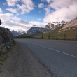 Foto de Stock  : Mountain road