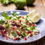 Couscous salad — Stock Photo