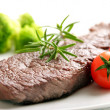 Stock Photo: Beef fillet steak