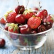 Red fruits — Stock Photo
