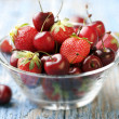 Red fruits — Stock Photo #6362189