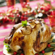 Christmas turkey — Stock Photo #6362320