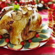 Christmas turkey — Stock Photo #6362322
