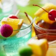Colorful cocktails — Foto de Stock
