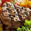 Pepper fillet steak - Stock Photo