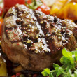 Stock Photo: Pepper fillet steak