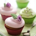 Pastel cupcakes — Stock Photo #6362379