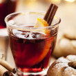 Royalty-Free Stock Photo: Mulled wine christmas drink