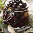 Pickling olives — Stock Photo