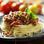 Spaghetti bolognese — Stock Photo #6362662