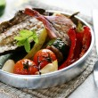 Spanish roasted vegetables - Stock Photo