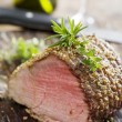 Stock Photo: Roast beef