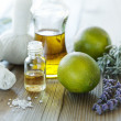 Stock Photo: Natural wellness products