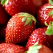 Fresh ripe strawberries closeup — Stock Photo #6363143