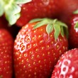 Fresh ripe strawberries closeup — Stock Photo #6363149