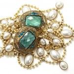 Vintage jewelry — Stock Photo